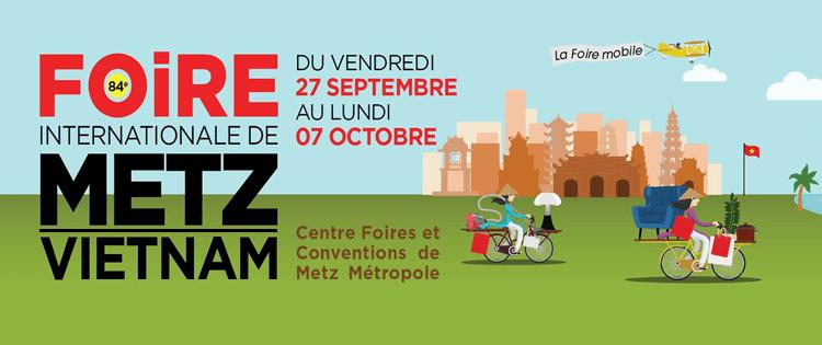Retrouvez-nous à la Foire Internationale de Metz !