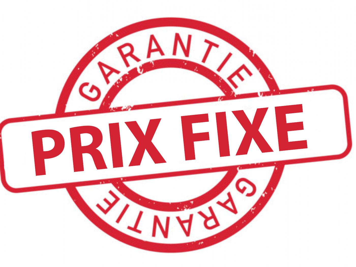 PRIX FIXE