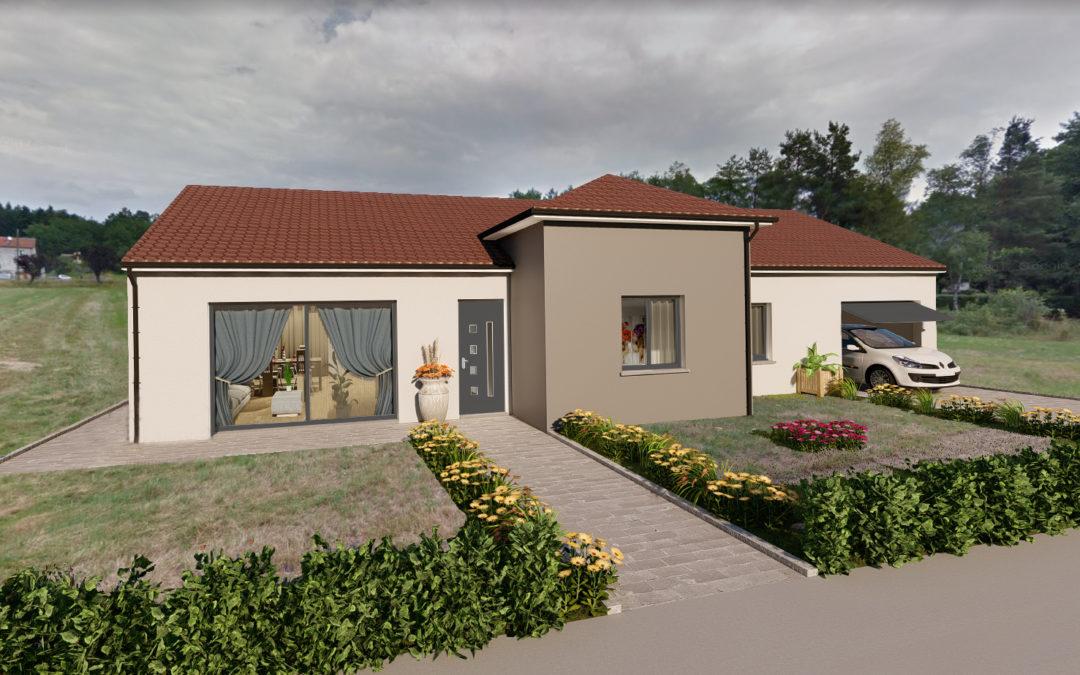 Construire leur maison familiale de 130 m² à Bertrichamps